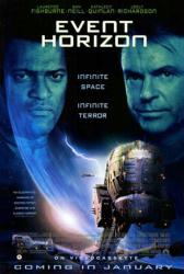 Event Horizon movie poster [Laurence Fishburne/Sam Neill] video poster
