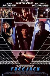Freejack movie poster [Mick Jagger/Emilio Estevez/Anthony Hopkins]