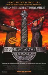 Highlander: Endgame movie poster [Christopher Lambert & Adrian Paul]