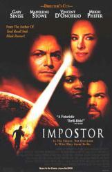 Impostor movie poster [Gary Sinise, Madeleine Stowe & Mekhi Phifer]