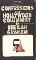 Sheilah Graham: Confessions of a Hollywood Columnist PB Book/1970