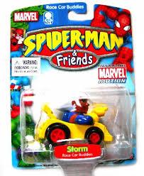 Spider-Man & Friends [Race Car Buddies] Storm (Maisto/2003)