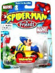 Spider-Man & Friends [Race Car Buddies] Wolverine (Maisto/2003)