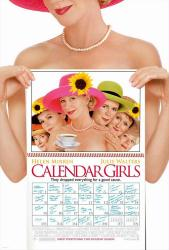 Calendar Girls movie poster [Helen Mirren, Julie Walters] 27x40