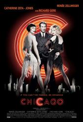 Chicago movie poster [Zellweger, Zeta-Jones & Gere] NM
