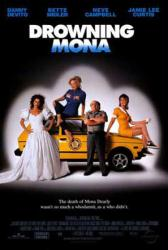 Drowning Mona movie poster /Danny DeVito/Bette Midler/Jamie Lee Curtis