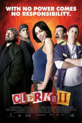 Clerks II movie poster [Rosario Dawson, Kevin Smith, Jason Mewes]