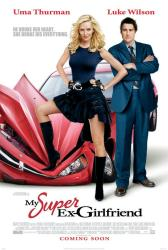 My Super Ex-Girlfriend movie poster [Uma Thurman & Luke Wilson]