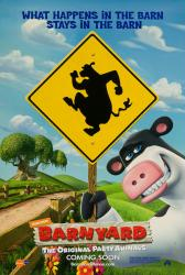 Barnyard movie poster (2006) original 27x40 advance