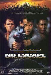 No Escape movie poster [Ray Liotta, Kevin Dillon & Ernie Hudson]