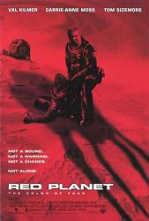 Red Planet movie poster [Val Kilmer] video poster/VG