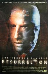 Resurrection movie poster (1999) [Christopher Lambert] 26x40 NM