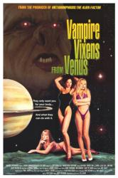 Vampire Vixens From Venus movie poster [Theresa Lynn, J.J North] 27x40