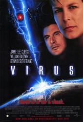 Virus movie poster [Jamie Lee Curtis, William Baldwin] video version