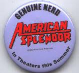 American Splendor (2 1/4'' Promotional Pin/Button) NM