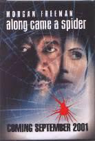 Along Came A Spider [Morgan Freeman/Monica Potter] (Promo Pin/Button)
