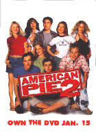 American Pie 2 promo pinback [Jason Biggs, Seann William Scott]