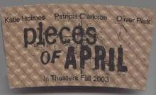 Pieces of April-Promotional cardboard coffee cup holder (Nr. Mint)