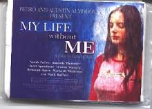 My Life Without Me: promo pack of tissues sealed in original packaging