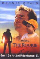 The Rookie pinback [Dennis Quaid] Promotional Pin/Button