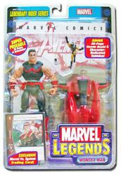Marvel Legends Legendary Rider Series: Wonder Man figure (ToyBiz/2005)