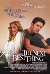 The Next Best Thing movie poster [Madonna & Rupert Everett] video