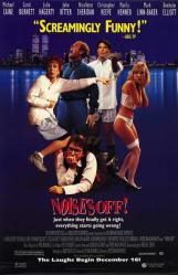 Noises Off movie poster [Michael Caine, Carol Burnett, John Ritter]