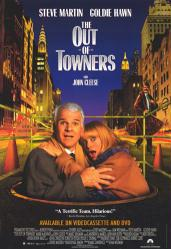 The Out-of-Towners movie poster [Steve Martin/Goldie Hawn/John Cleese]