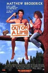 Out On A Limb movie poster [Matthew Broderick & Heidi Kling] NM
