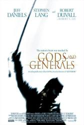 Gods and Generals movie poster (2003) 27x40 VG