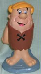 The Flintstones: Barney Rubble plastic coin bank (H-BPI/1994) New