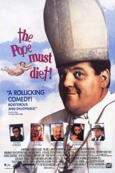 The Pope Must Diet! movie poster [Robbie Coltrane, Beverly D'Angelo]