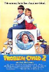 Problem Child 2 movie poster [John Ritter] 27x40 video version