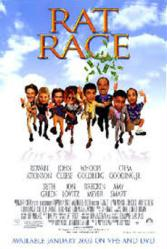 Rat Race movie poster [Rowan Atkinson/John Cleese/Whoopi Goldberg]