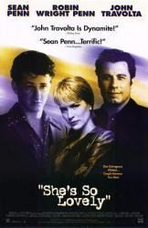 She's So Lovely poster [Sean Penn, Robin Wright, John Travolta] 26x40