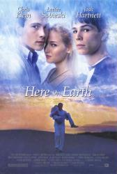 Here On Earth movie poster [Chris Klein, Leelee Sobieski, Hartnett] NM