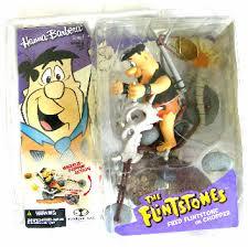 Hanna-Barbera [Flintstones] Fred Flintstone/Chopper figure (McFarlane)