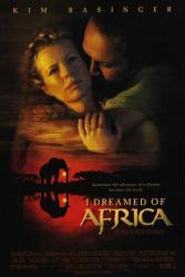 I Dreamed of Africa movie poster [Kim Basinger, Vincent Perez] 27x40