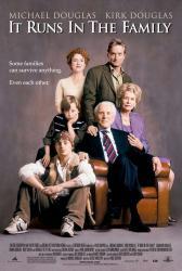 It Runs In the Family movie poster [Michael Douglas & Kirk Douglas]
