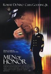 Men Of Honor movie poster [Robert DeNiro/Cuba Gooding Jr.] VG