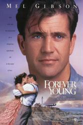 Forever Young movie poster [Mel Gibson] 27x40 video version