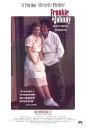 Frankie & Johnny movie poster [Al Pacino & Michelle Pfeiffer] video