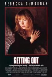 Getting Out movie poster [Rebecca De Mornay] 27x40 video version