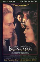 Jefferson in Paris poster [Nick Nolte, Greta Scacchi, Thandie Newton]