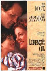 Lorenzo's Oil movie poster [Nick Nolte, Susan Sarandon] 27x40 VG