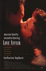 Love Affair poster [Warren Beatty/Annette Bening/Katharine Hepburn] VG
