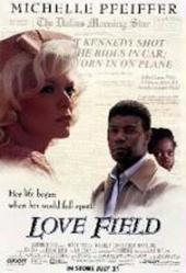 Love Field movie poster [Michelle Pfeiffer, Dennis Haysbert] 27x40