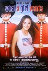 What A Girl Wants movie poster [Amanda Bynes] 27x40 video version