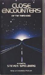 Close Encounters of the Third Kind paperback book/1977 [Spielberg]