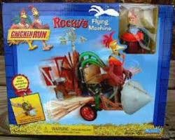 Chicken Run: Rocky's Flying Machine with Rocky figure (Playmates/2000)